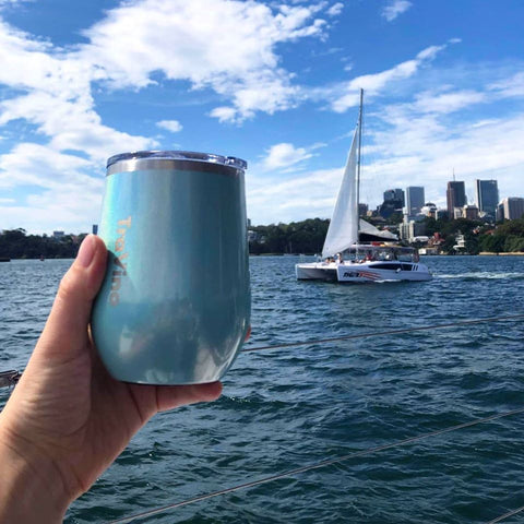 Stemless Insulated Wine Tumbler