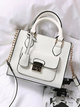 Load image into Gallery viewer, Contrast Trim Pu Crossbody Bag