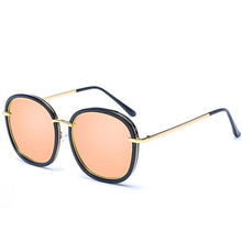 Load image into Gallery viewer, Korean Vintage Fashion Oval Mirror Polarized Sunglasses