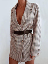 Load image into Gallery viewer, Fashion Double Breasted Long Sleeve Blazer