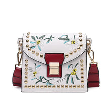 Load image into Gallery viewer, Colorful Ribbon Embroidery Crossbody Bag