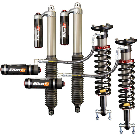 2015-2019 Ford F-150 4x4 2.5 DC Reservoir Front & Rear Shocks Kit - UCA or Lift Kit