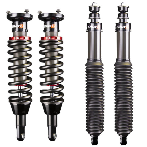 2005-2019 Toyota Tacoma 4x4 Elka 2.5 IFP Front & Rear Shocks Kit - with UCA or Lift Kit