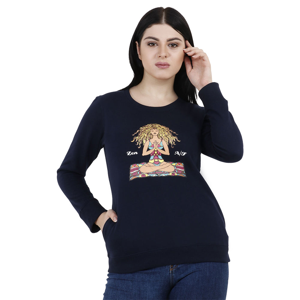 HIPPIE VIBES Women's Fleece Sweatshirts