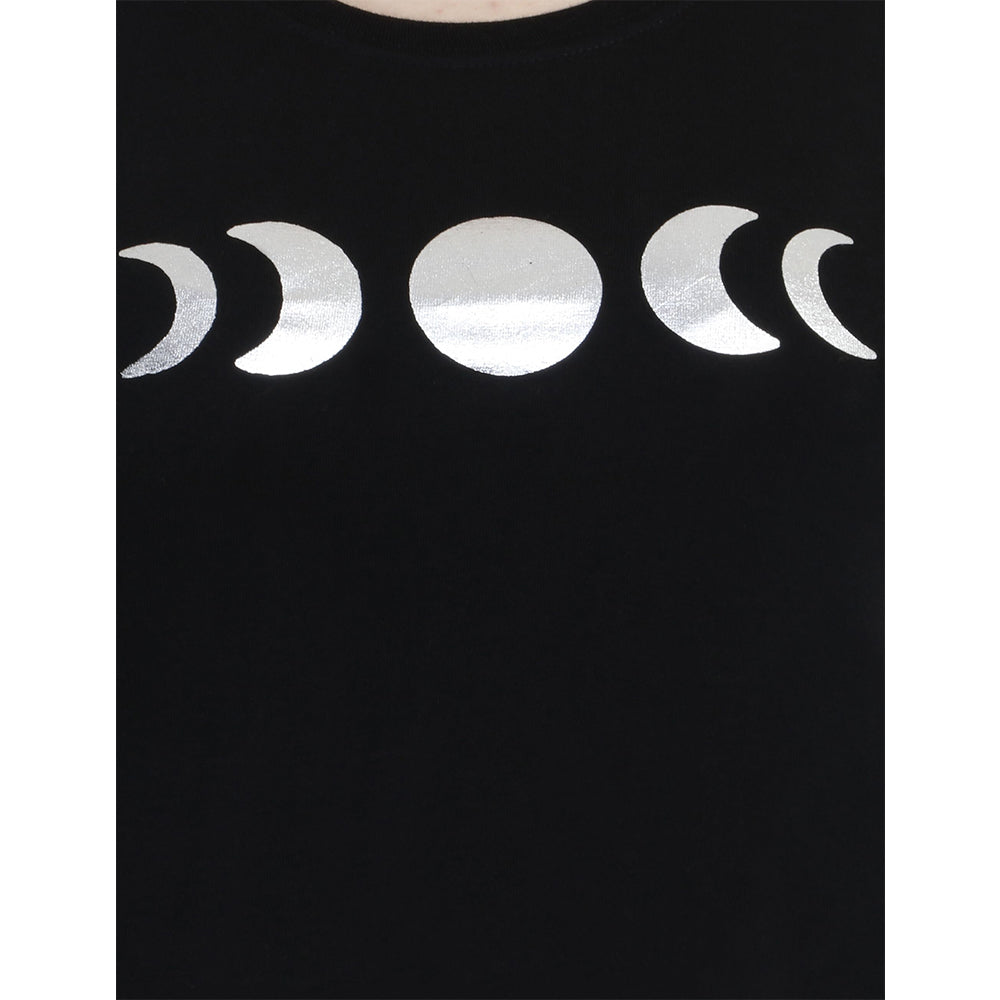 MOON IN WITH ME Women's Cotton T-shirt