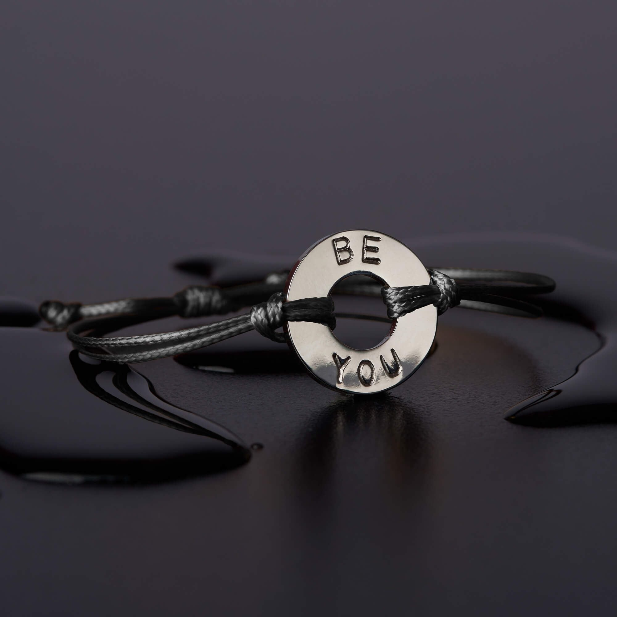 'Be You' Threaded Bracelet