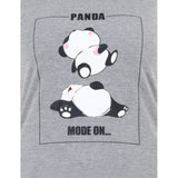PANDA MODE ON Women's Cotton T-Shirt