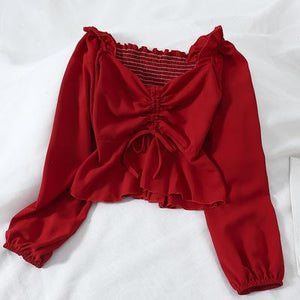 Evi Top - Red