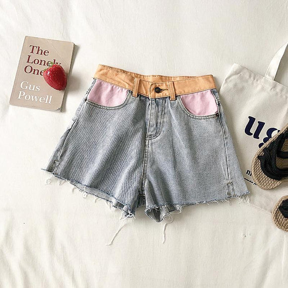 Elma Denim Shorts