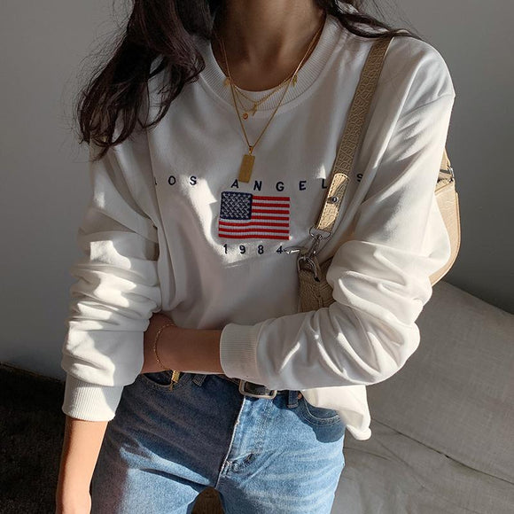 Los Angeles Sweater - White