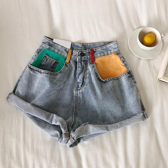 Yuki Denim Shorts