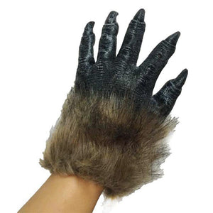 Furry Monster Werewolf Hands