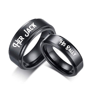 Her Jack, His Sally Ring