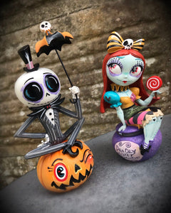 Jack Skellington & Sally Figurine