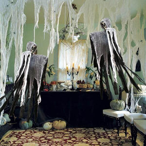 Horror Party Set Decorations Props Spider Pumpkin Haunted House Decor