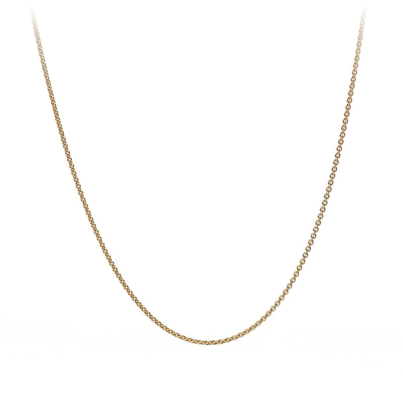 GOLD 14K FINE CABLE CHAIN