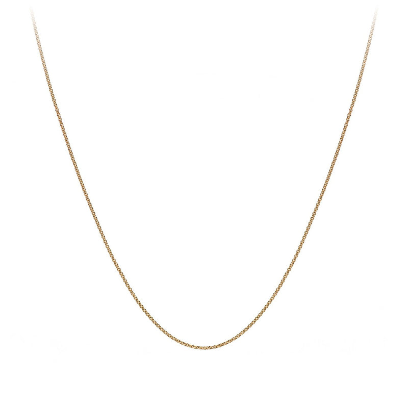 GOLD 14K EXTRA FINE CABLE CHAIN