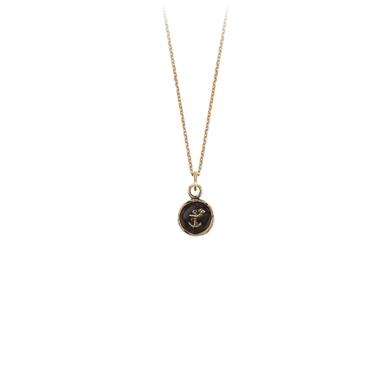 OPTIMISM 14K GOLD CHARM