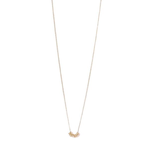 MINI HARPER BEAD NECKLACE | GOLD