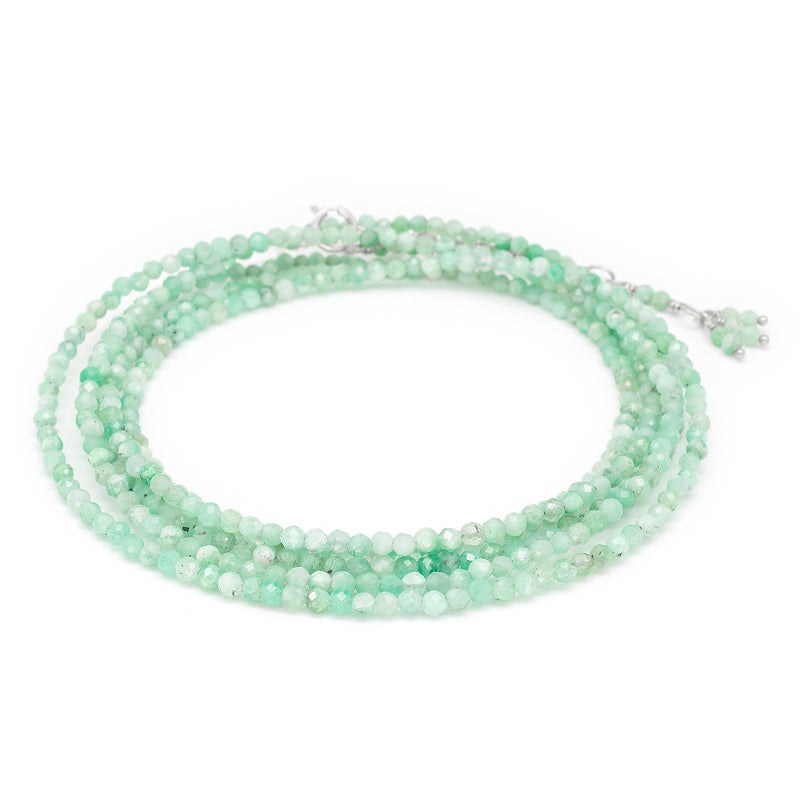 Emerald Wrap Bracelet - Necklace
