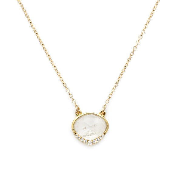 ANNI NECKLACE | MOONSTONE - Anne Sportun Fine Jewellery