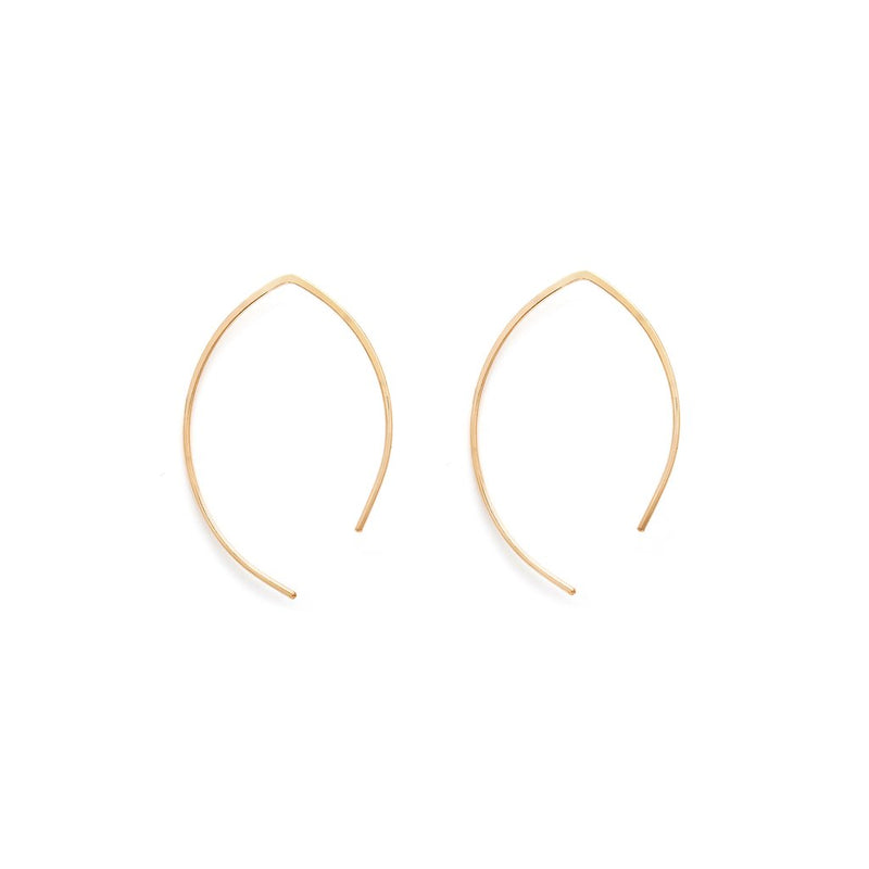 ARCH EARRINGS SMALL | GOLD
