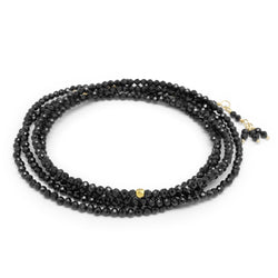 Spinel Wrap Bracelet - Necklace