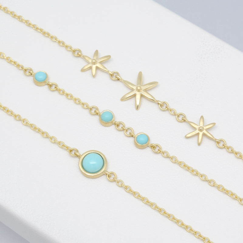 Triple Star Bracelet - Anne Sportun Fine Jewellery