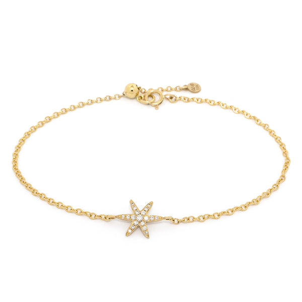 Diamond Pave Star Bracelet - Anne Sportun Fine Jewellery