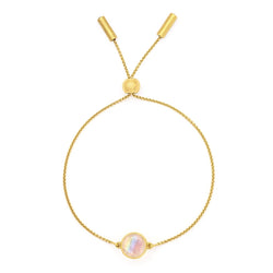 Core Knockout Bracelet -  Gold & Moonstone