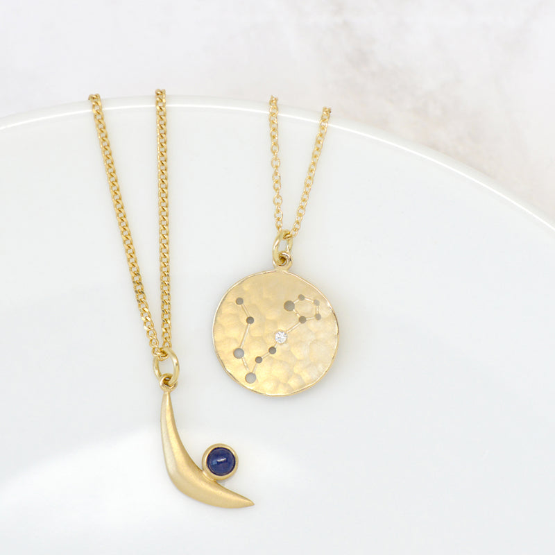 Celestial Sign Necklace - Anne Sportun Fine Jewellery