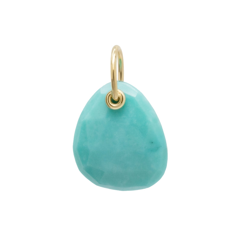 Small Trillion Gemstone Charm - Anne Sportun Fine Jewellery