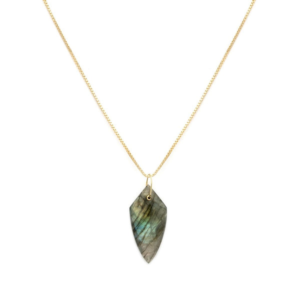CLER NECKLACE | LABRADORITE