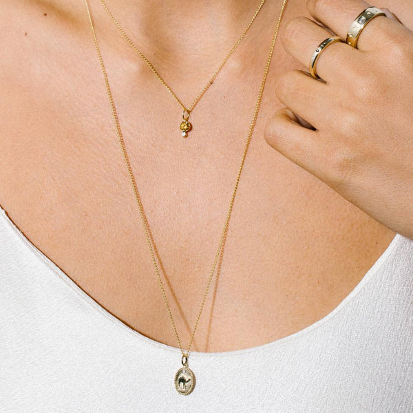 CAMEL | Traveller's Tolken Necklace - Anne Sportun Fine Jewellery
