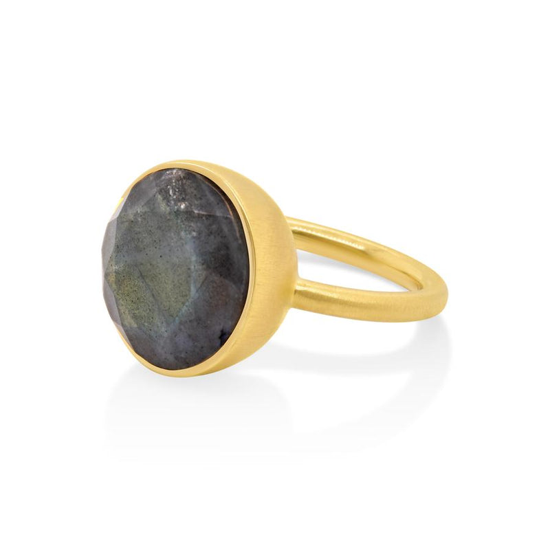 LABRADORITE SIGNATURE RING