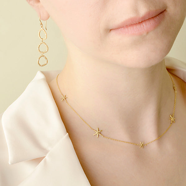 Scattered Star Necklace - Anne Sportun Fine Jewellery Toronto, Canada, and U.S.
