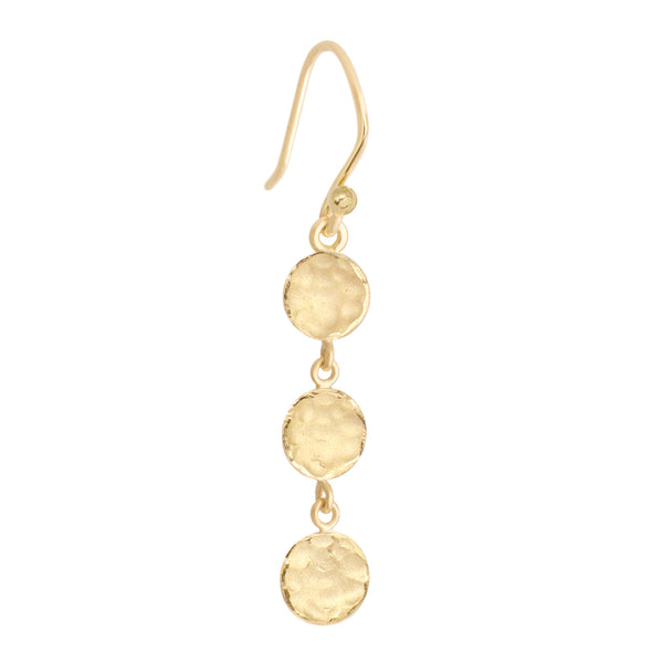 Mini 3 Disc Earrings - Anne Sportun Fine Jewellery
