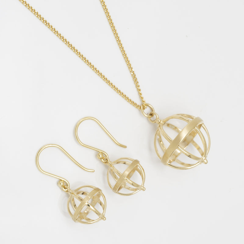 Mini Cage Earrings - Anne Sportun Fine Jewellery