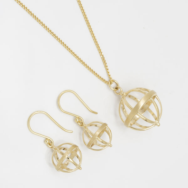 Large Cage Necklace - Anne Sportun Fine Jewellery