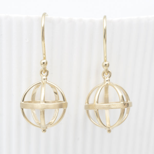 Medium Cage Earring - Anne Sportun Fine Jewellery