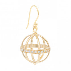 Large Pave Cage Earring - Anne Sportun Fine Jewellery Toronto, Canada, and U.S.