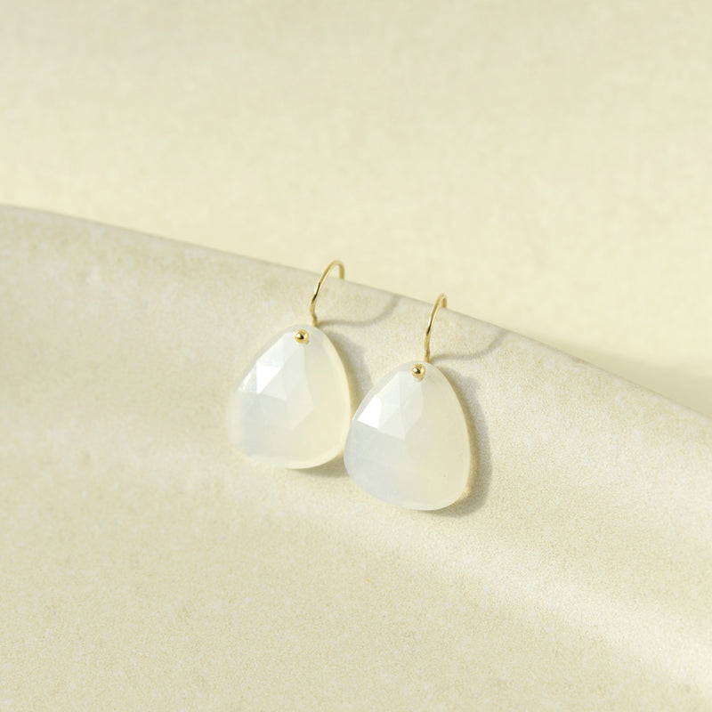 Trillium Drop Earrings - Anne Sportun Fine Jewellery