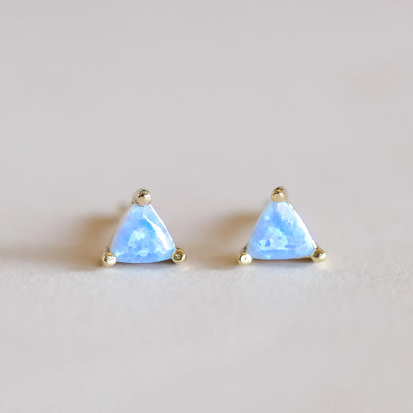 Fire Opal Mini Energy Gem Earrings