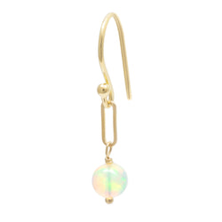 *Limited Edition* Opal Paperclip Drop Earrings