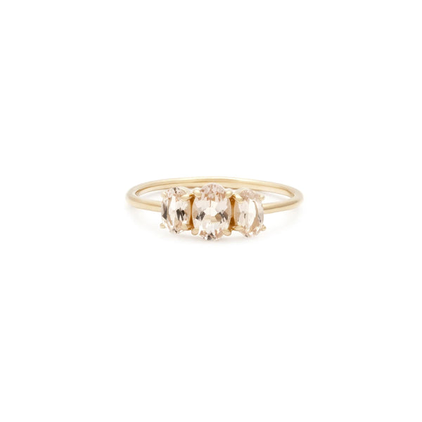 BIJOU RING | 14K GOLD & MORGANITE