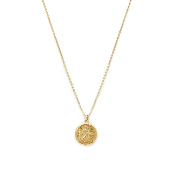 ST CHRISTOPHER NECKLACE | GOLD