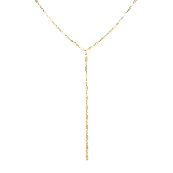 MARA TIE NECKLACE | GOLD - Anne Sportun Fine Jewellery
