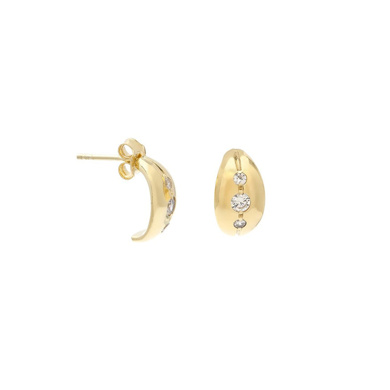 MARAIS HOOPS | GOLD - Anne Sportun Fine Jewellery