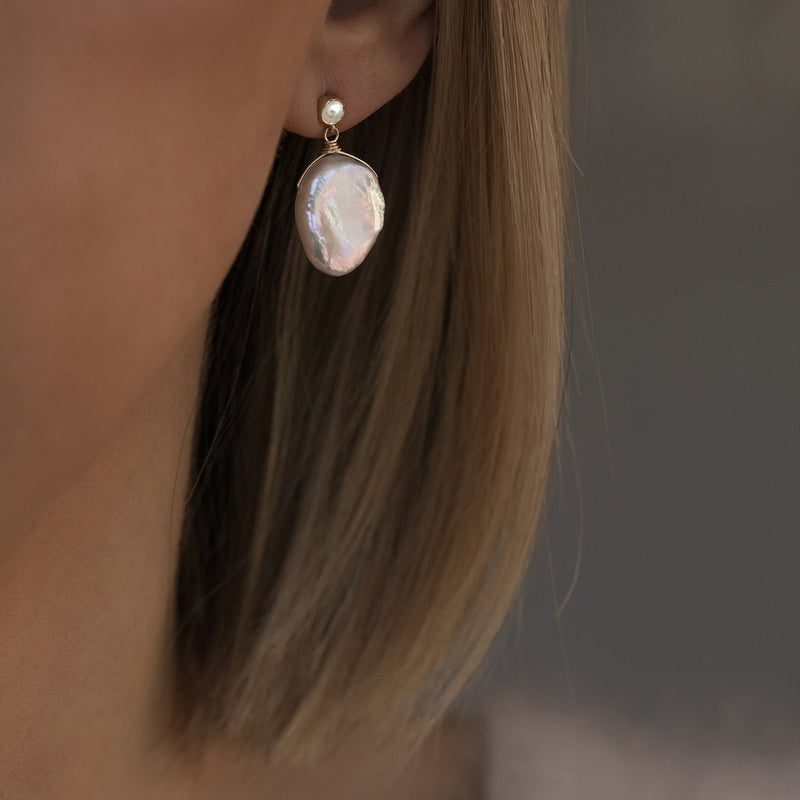 MAROLA EARRINGS | PEARL