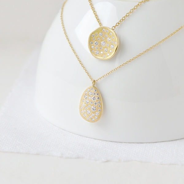 Medium 'Stardust' Pendant Necklace - Anne Sportun Fine Jewellery